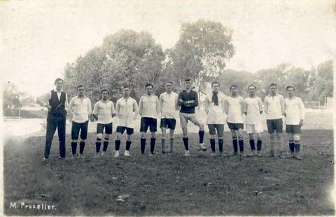Schonunger Fußballmannschaft (1. Mannschaft) in Vorkriegszeit