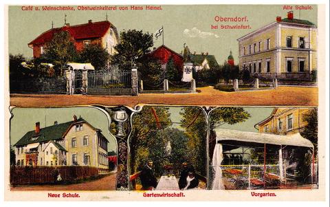 Cafe und Weinschänke Heinel in Oberndorf - bitte vergrößern!