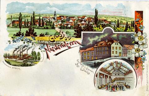 Niederwerrn um 1900