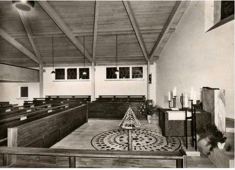 Evang. Kirche Zum guten Hirten ca, 1965