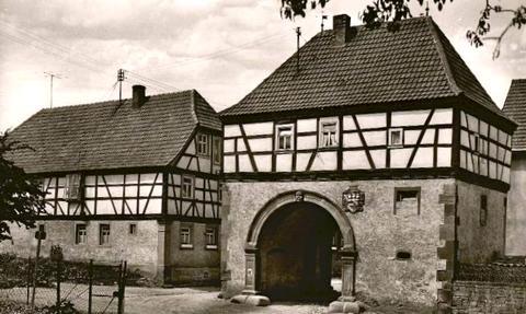 Das Tor nach Osten Richtung Schweinfurt