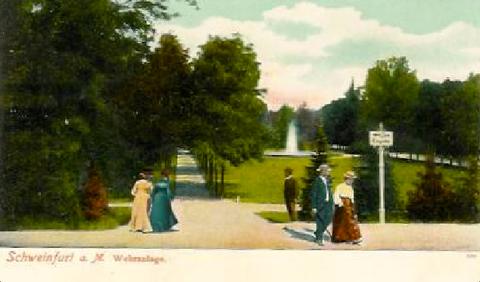 Wehranlagen um 1902