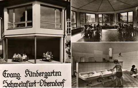 Evang. Kindergarten um 1960