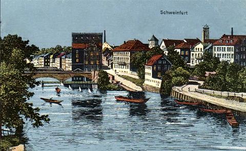 ca. 1901 - Heilig-Geist-Kirche noch mit kurzem Turm !