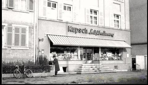 Niederwerrner Straße Schweinfurt - Heute Cortina-Eisdiele - einst Kupsch
