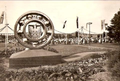 SKF-Sommerfest-Gelände in den 1930ern