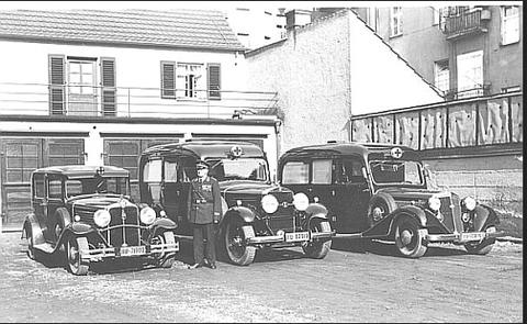 Die Fahrzeuge der Jahre 1935 - 1940