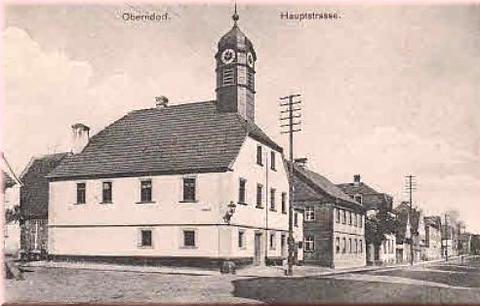 Hauptstraße Oberndorf ca. 1912