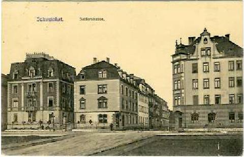 Sattlerstraße um 1914