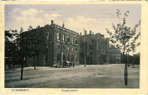 Hauptbahnhof um 1916