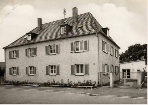 Evang. Pfarrhaus um 1962