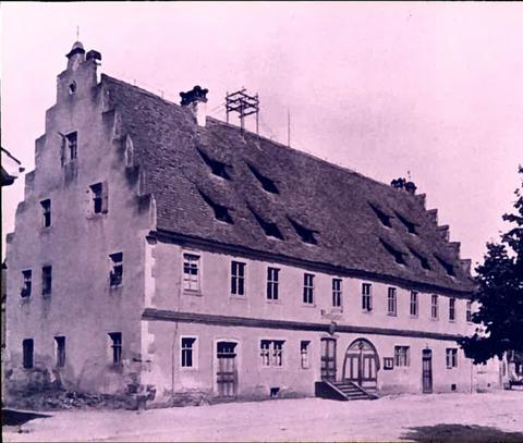 Rathaus um 1910 - Renaissance-Bau aus dem Jahre 1602