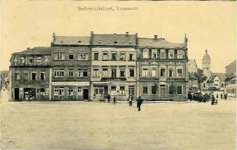 Roßmarkt um 1913