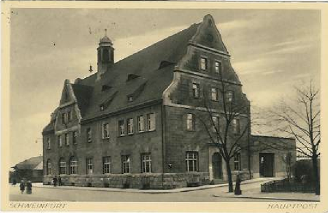 Hauptpost um 1934