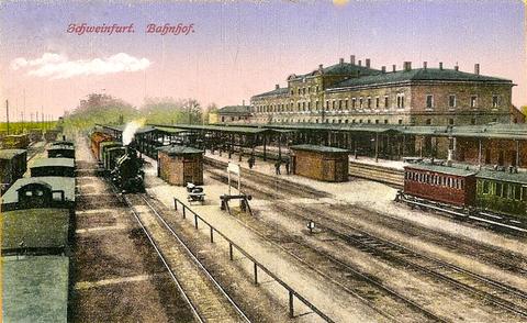 Der Hauptbahnhof Anfang des 20. Jahrhunderts