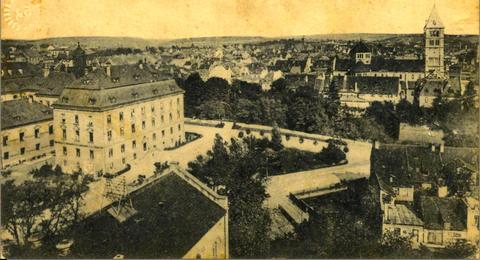 Der Schillerplatz mit Umgebung - Vorkriegszeit- Danke an Dietger Braun