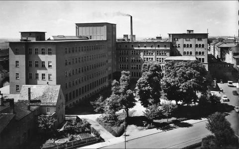 SKF Schrammstraße in den 1950ern