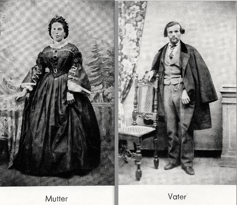 Die Eltern von Ernst Sachs