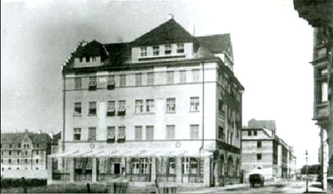 Hotel zum Grafen Zeppelin im Jahr 1909