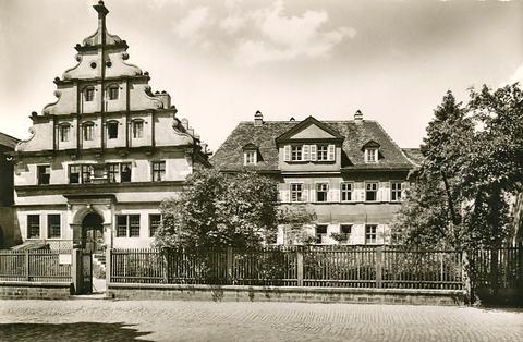 Das Schweinfurter Gymnasium ca. 1920