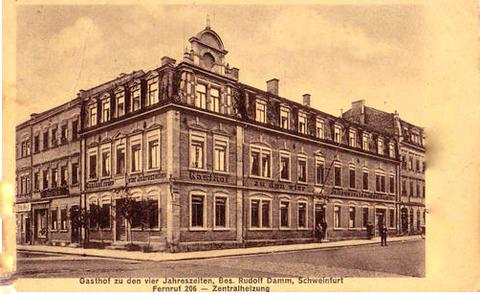 Manggasse Nr. 1 - ca. 1912