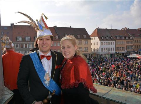 Prinzenpaar 2014 - Foto: Sandra Bernadett Grätsch