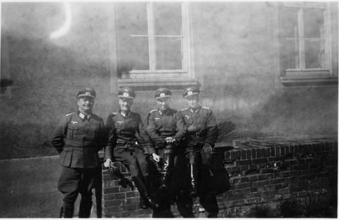 Insp. Trebsch - KVR Memmel -  - Lieutnant Röhl - Lieutnant Rudolph - danke an Harald Spiegel