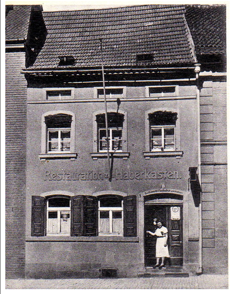 Der Haberkasten in der Vorkriegszeit