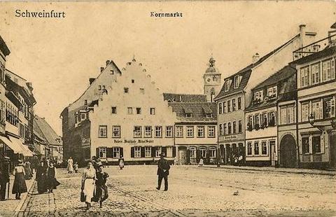 Der Kornmarkt um 1900