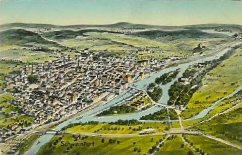 von Süden um 1910