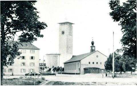 Die Kilianskirche IV. kurz nach ihrer Neuerrichtung