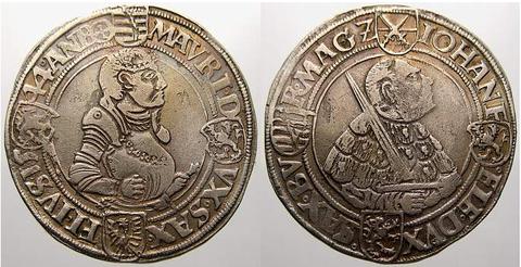 vergleichbare Münze (Taler)