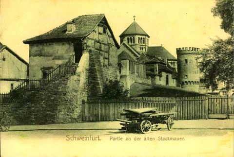 1902 - Heilig-Geist-Kirche noch mit kurzem Turm