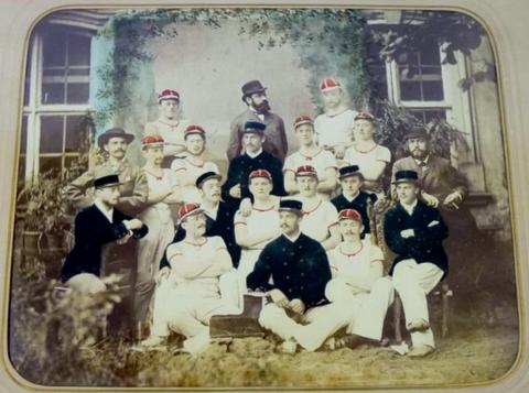 Schweinfurter Ruderclub Franken im Jahre 1900