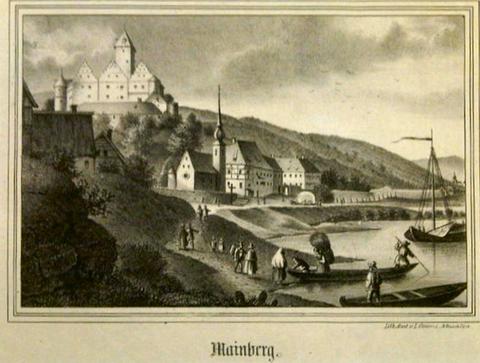 Schloss Mainberg 1850