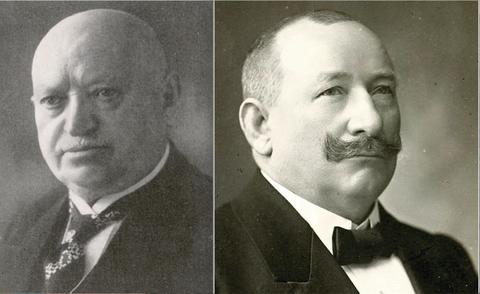 Fries Engelbert (links) und Höpflinger Wilhelm