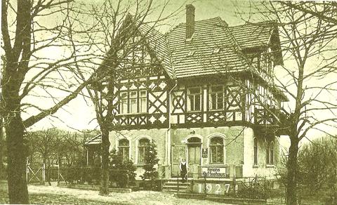 Reich's Kaffeehaus 1927 - Archiv Fritz-Eberhard Reich