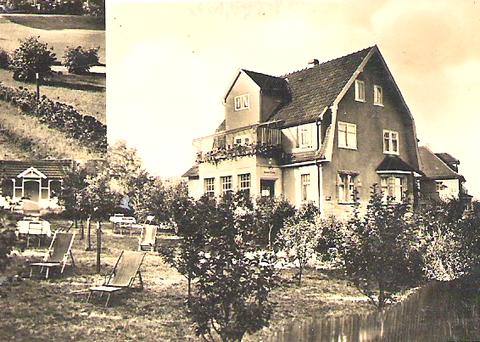 Puschkinstraße 9- Archiv F.E. Reich