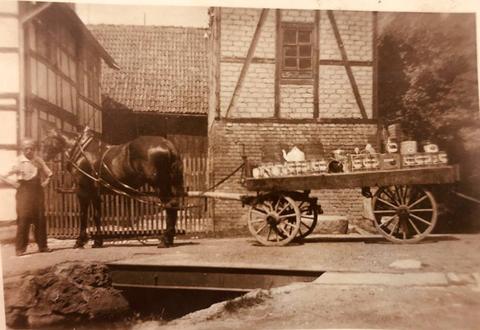 Marktgasse Schweina - Martin Moczulski, heute Fam. Reich -Kai Alex 01.04.2019R