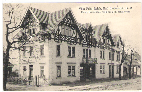 Villa Sattlerei Fritz Reich -rechts der Schneiderladen