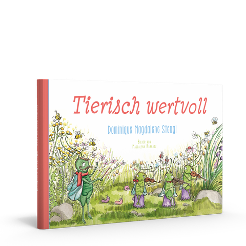 """""""Tierisch wertvoll"""" das besondere Kinderbuch in reimform"""