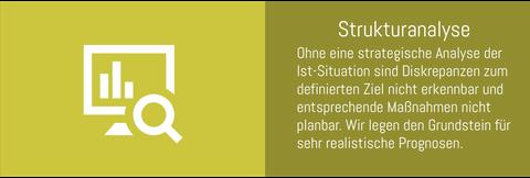 Strukturanalyse durchführen