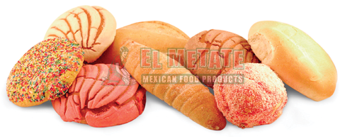 Assorted sweet bread, Birote and Telera made fresh to order.
