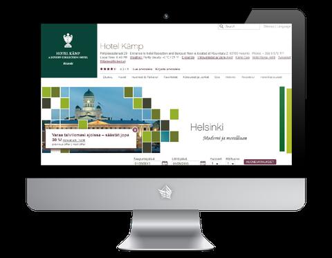 Hotel Kamp Helsinki Website