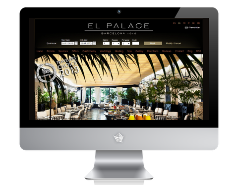 El Palace Barcelona Hotel Website