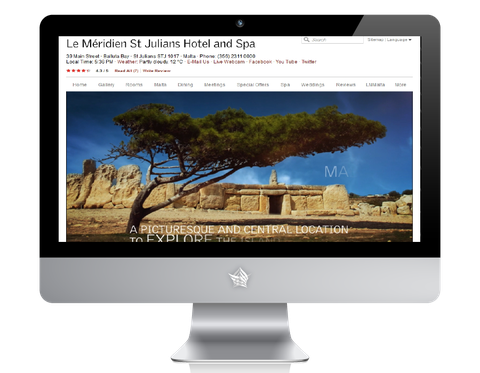 Meridien Malta Hotel Website