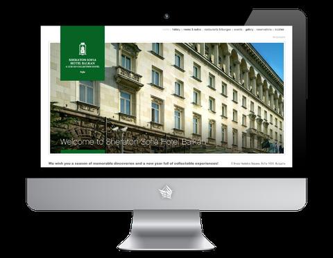 Sheraton Sofia Hotel Website