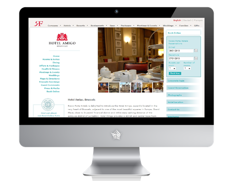 Amigo Hotel Website