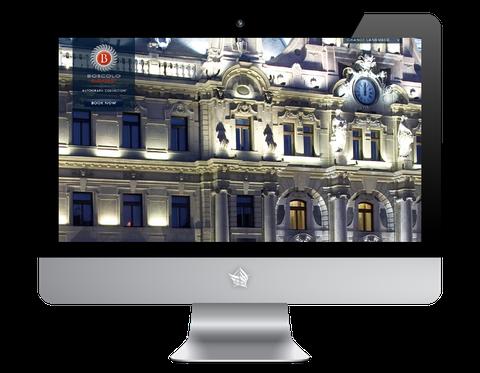 Boscolo Hotel Budapest Website
