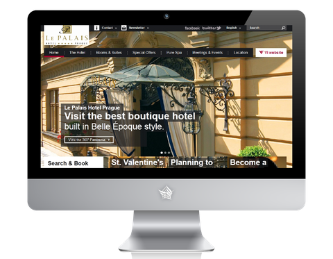 Le Palais Hotel Prague Website